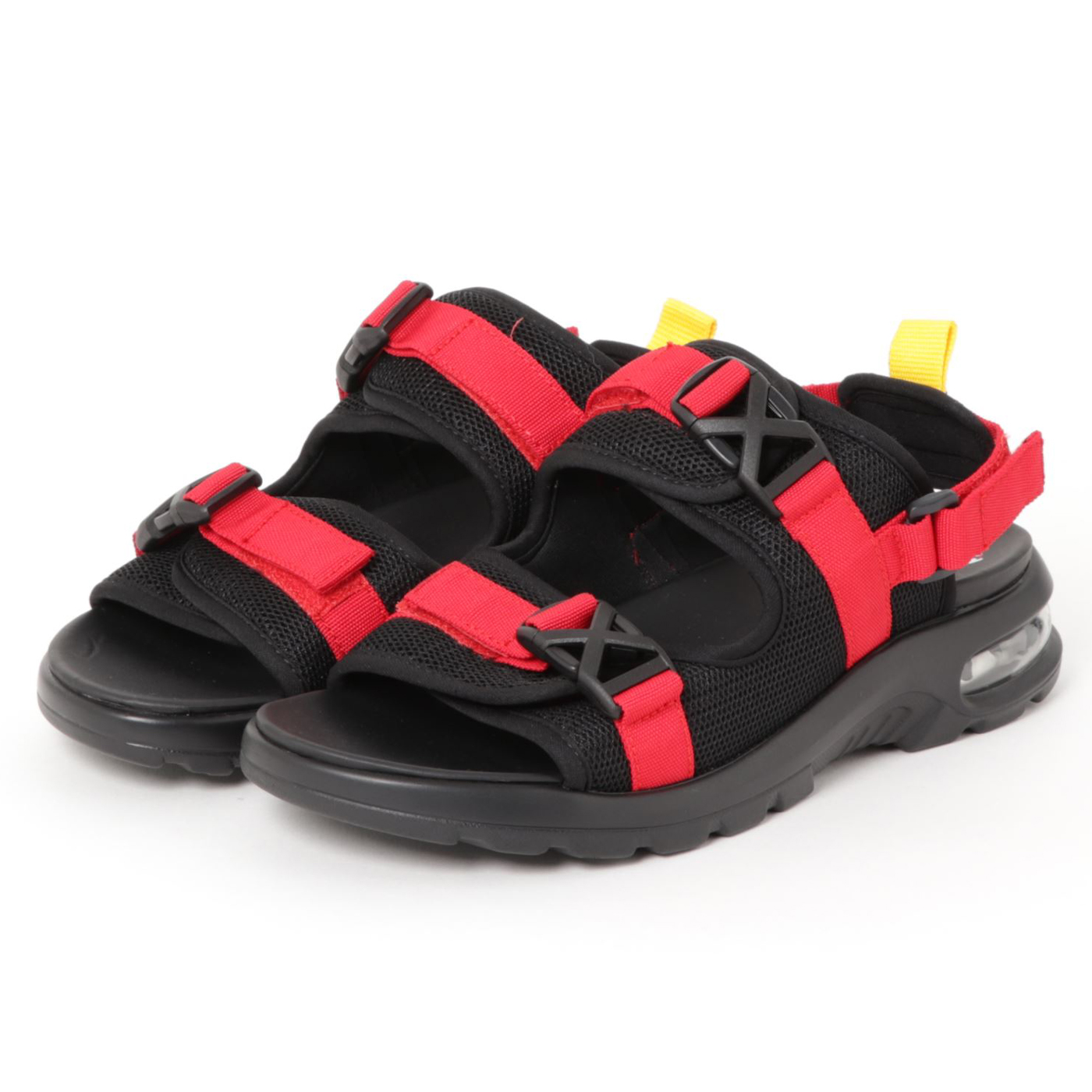product: MS CUSHION SANDALS / color: RED 1