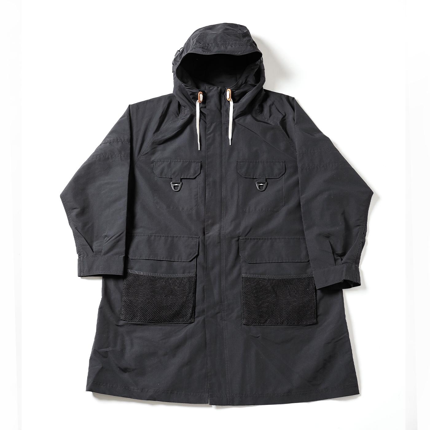 product: Pikes Safari Coat / color: BLACK 1