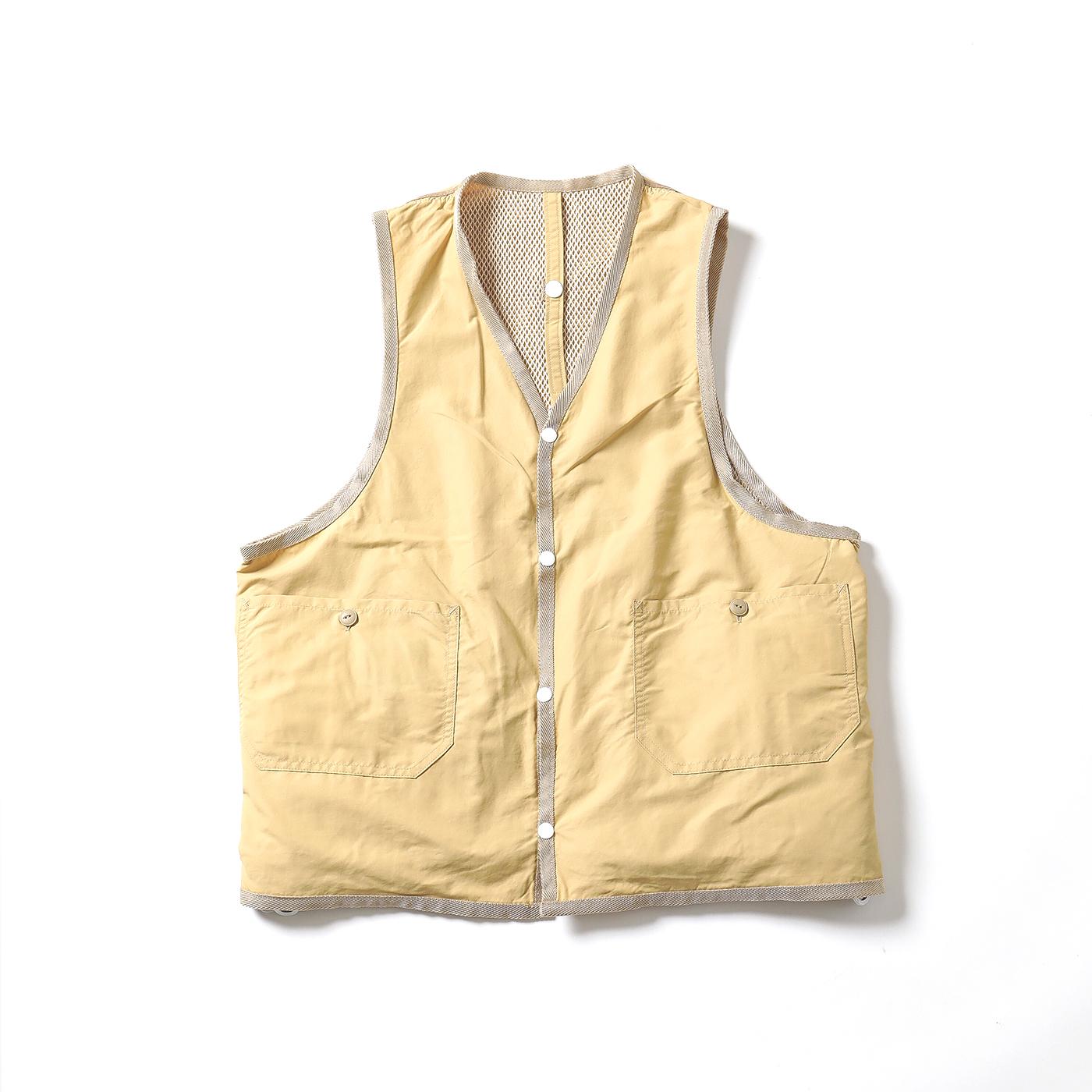 product: Jackson Reversible Vest / color: BEIGE 2