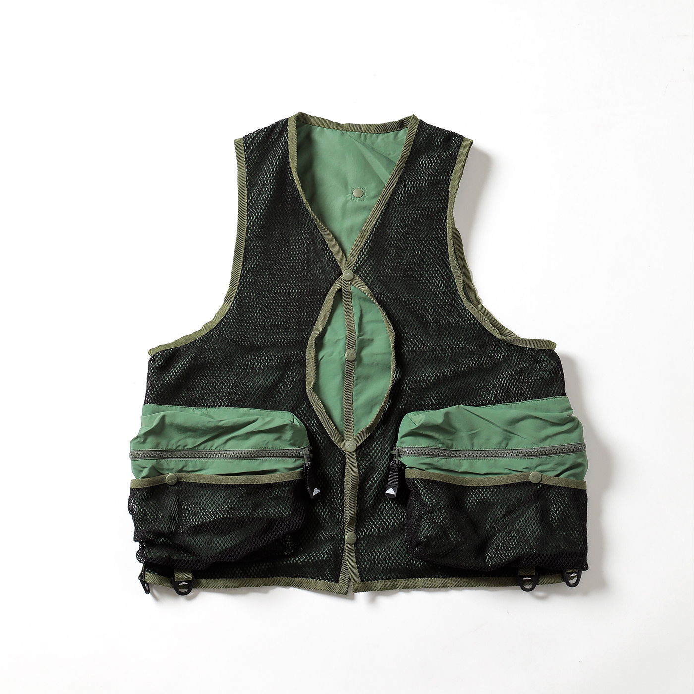 product: Jackson Reversible Vest / color: KHAKI 1