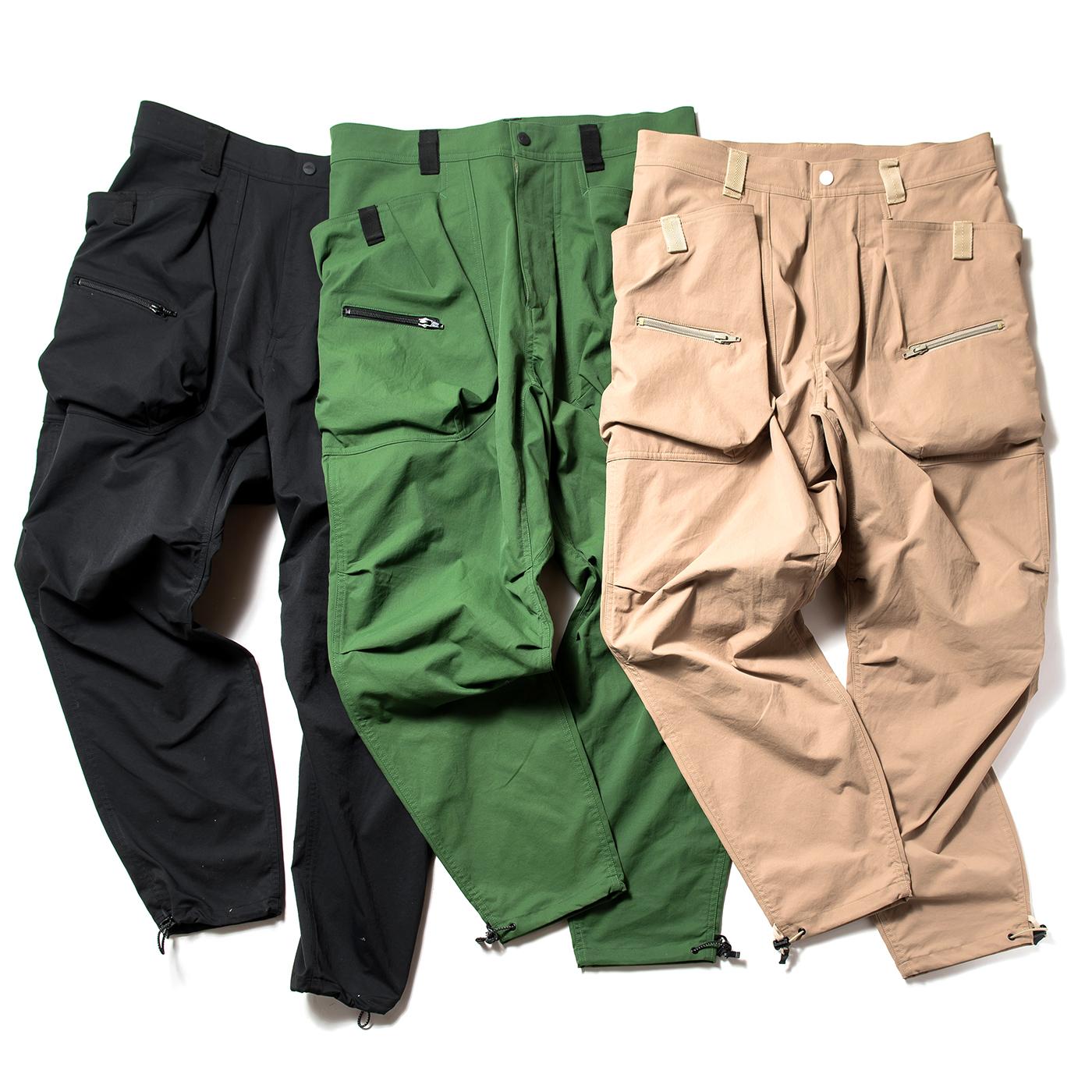product: Garfield Pants / color: KHAKI 2
