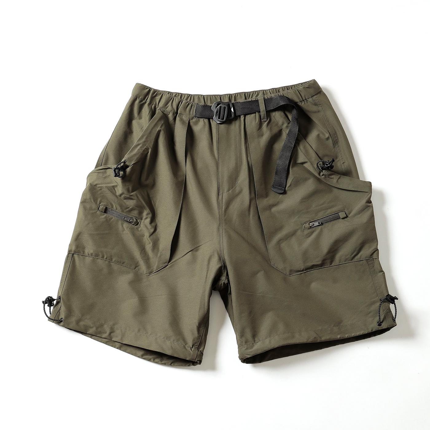 product: Garfield Shorts / color: KHAKI 1