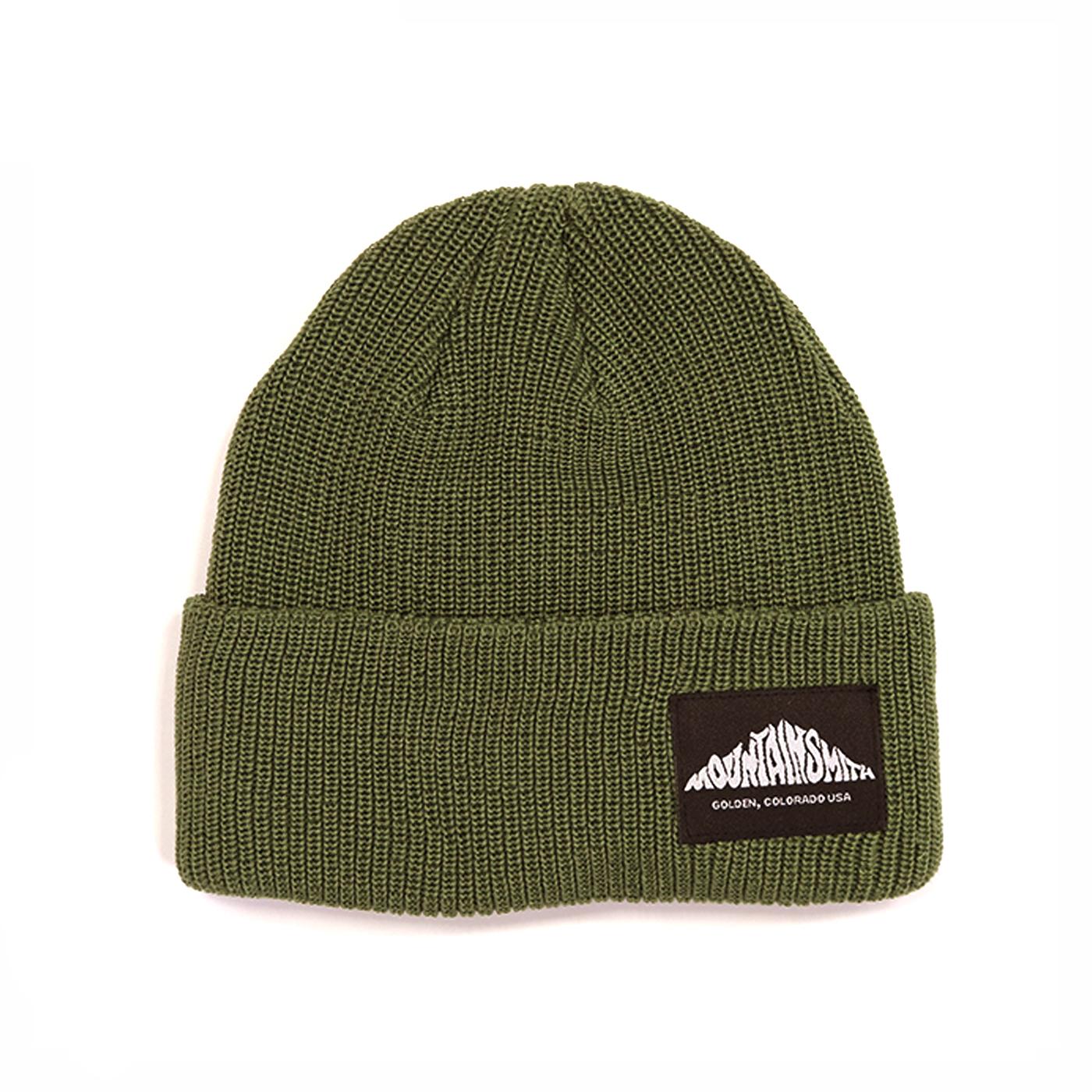 product: LOGO KNIT CAP / color: KHAKI 1