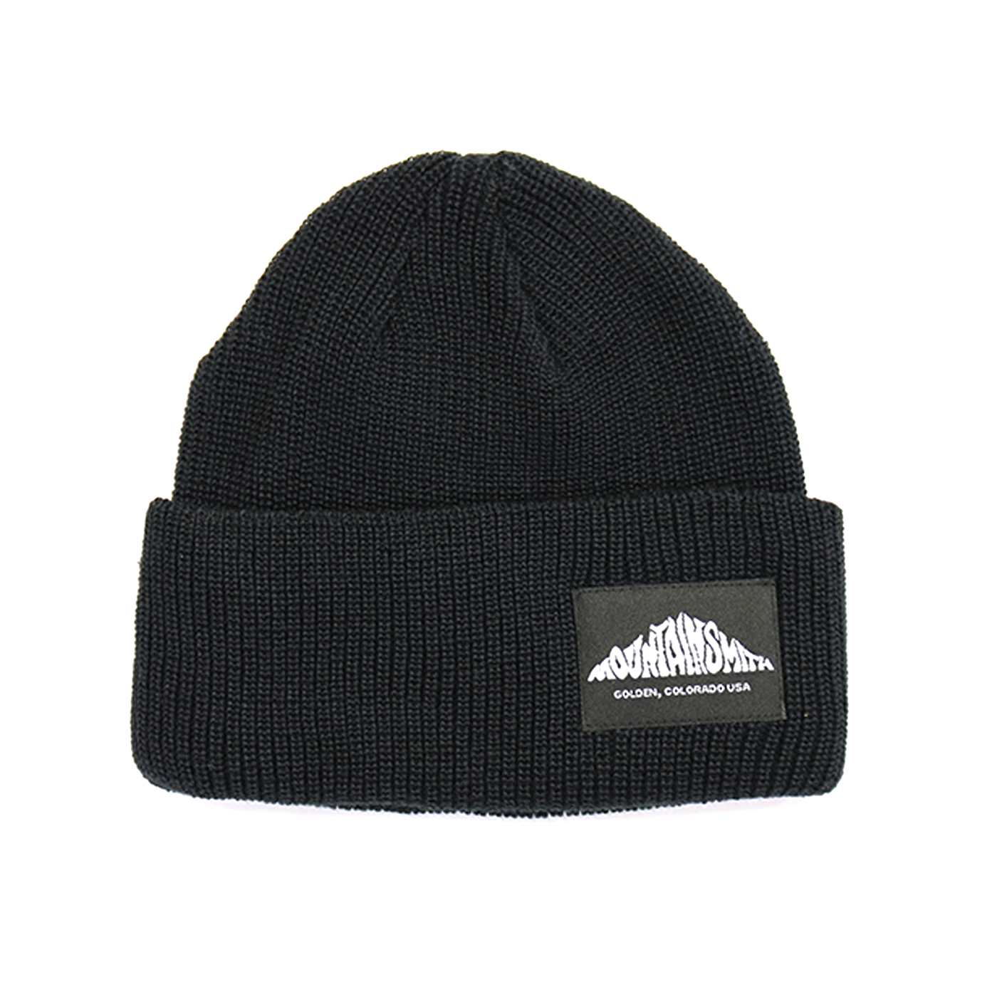 product: LOGO KNIT CAP / color: BLACK 1