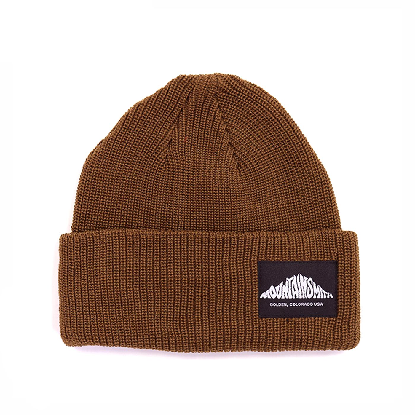 product: LOGO KNIT CAP / color: BROWN 1