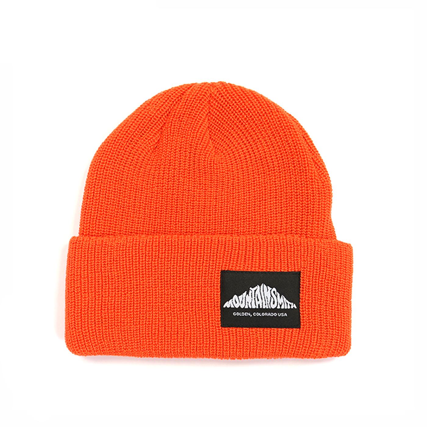 product: LOGO KNIT CAP / color: ORANGE 1