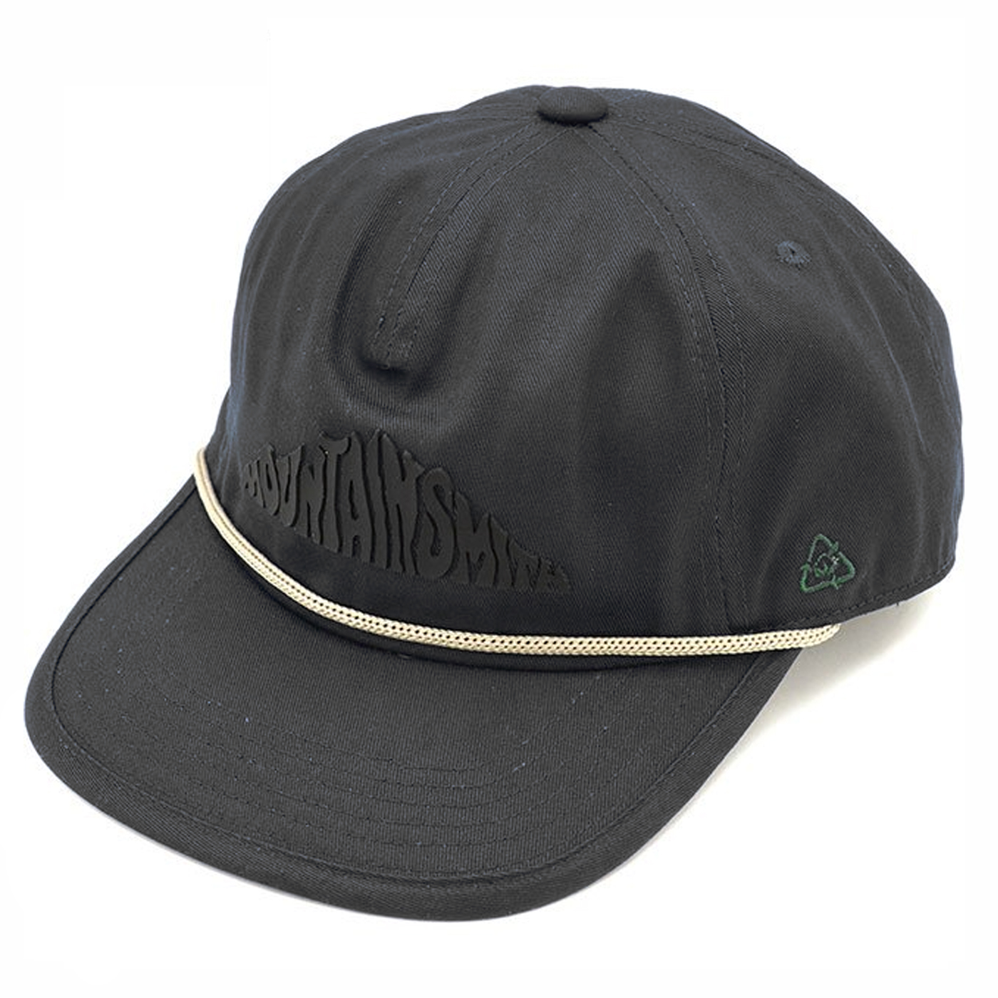 product: MS RECYCLED COTTON Golden CAP / color: BLACK 1