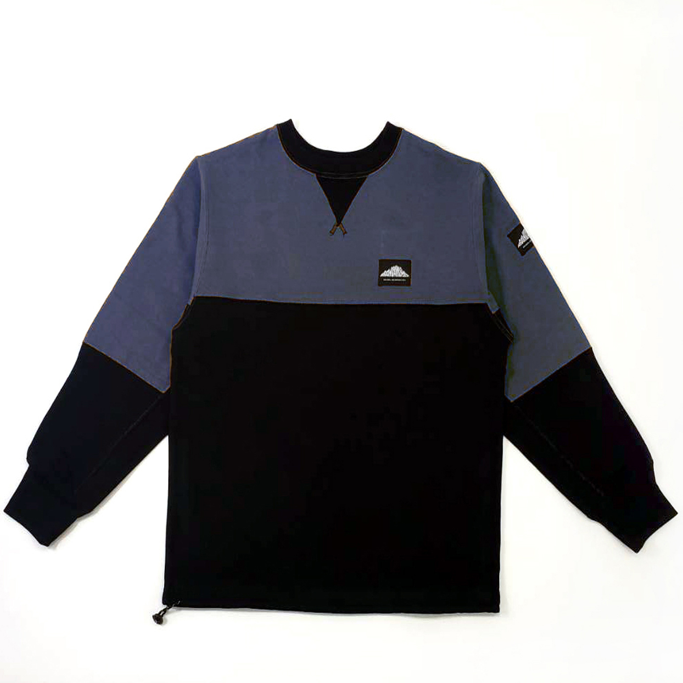 product: Evans Recycled Crew / color: NAVY 1