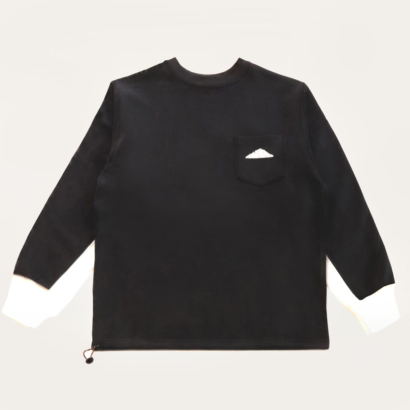 product: Granby Recycled Crew / color: BLACK 1