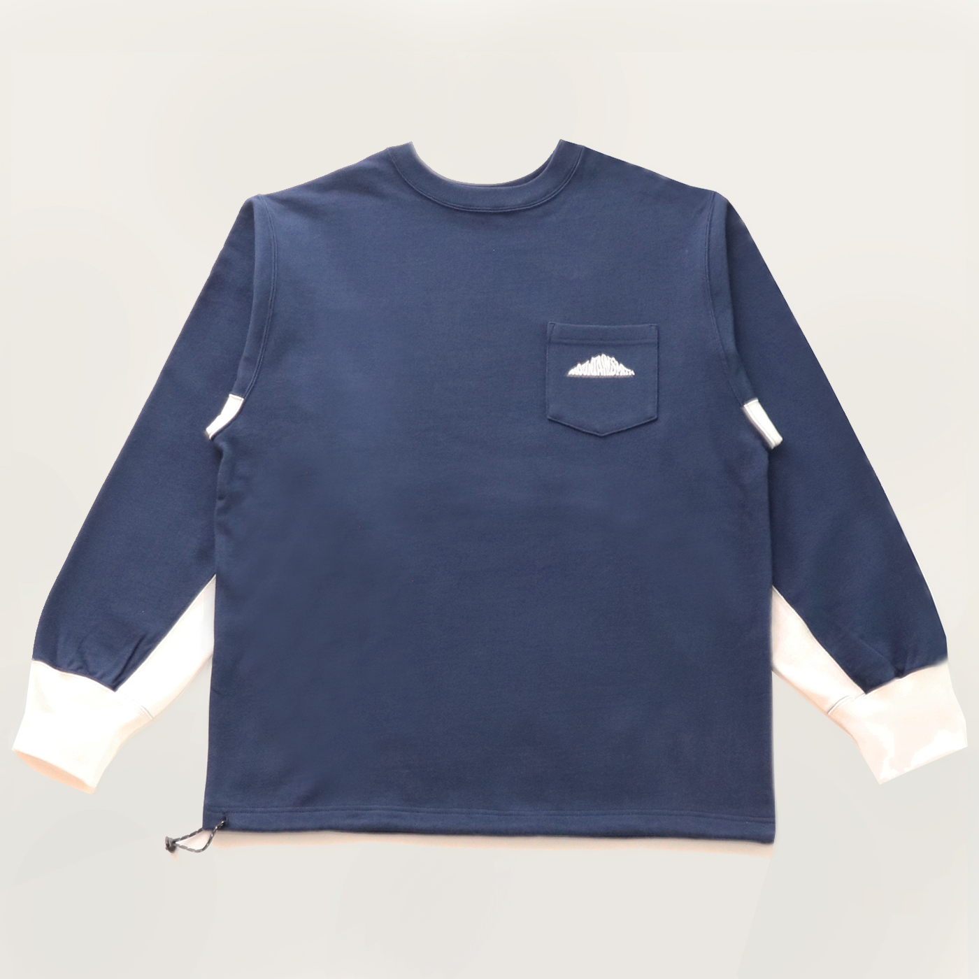 product: Granby Recycled Crew / color: NAVY 1