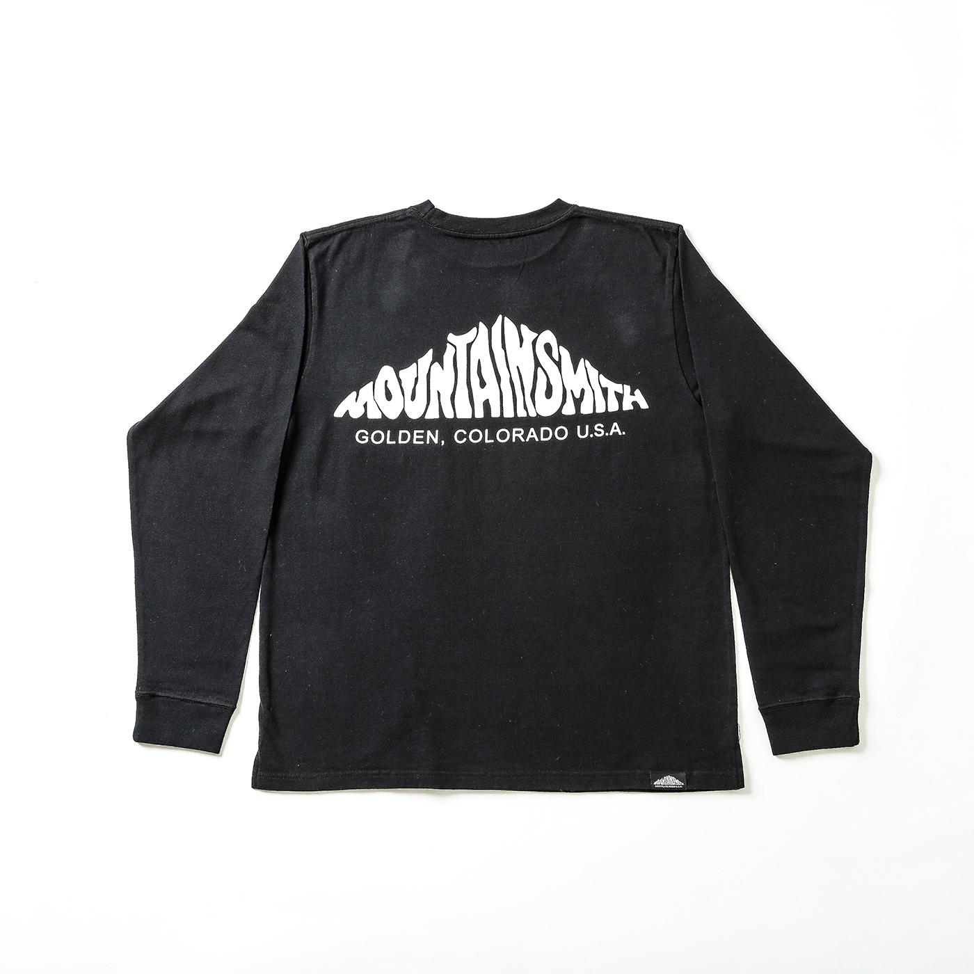 product: Basic Big logo L/S / color: BLACK 1