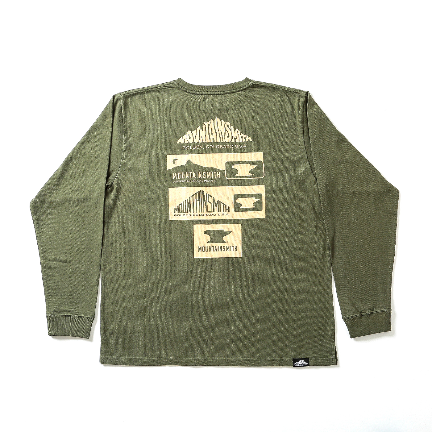 product: MS History L/S / color: OLV DRUB 1