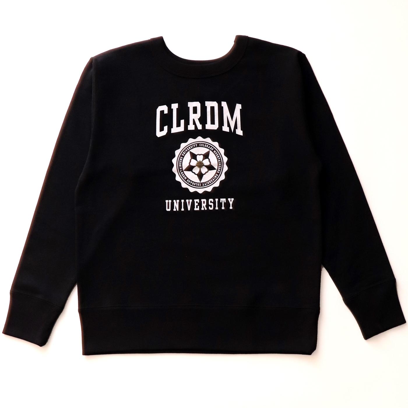 product: CLRDM Crew / color: BLACK 1