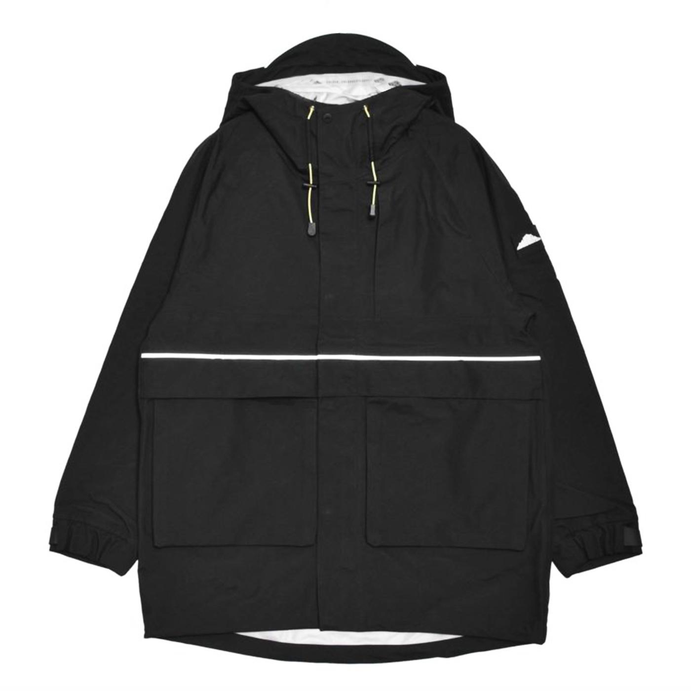 product: LONG PARKA / color: BLACK 1