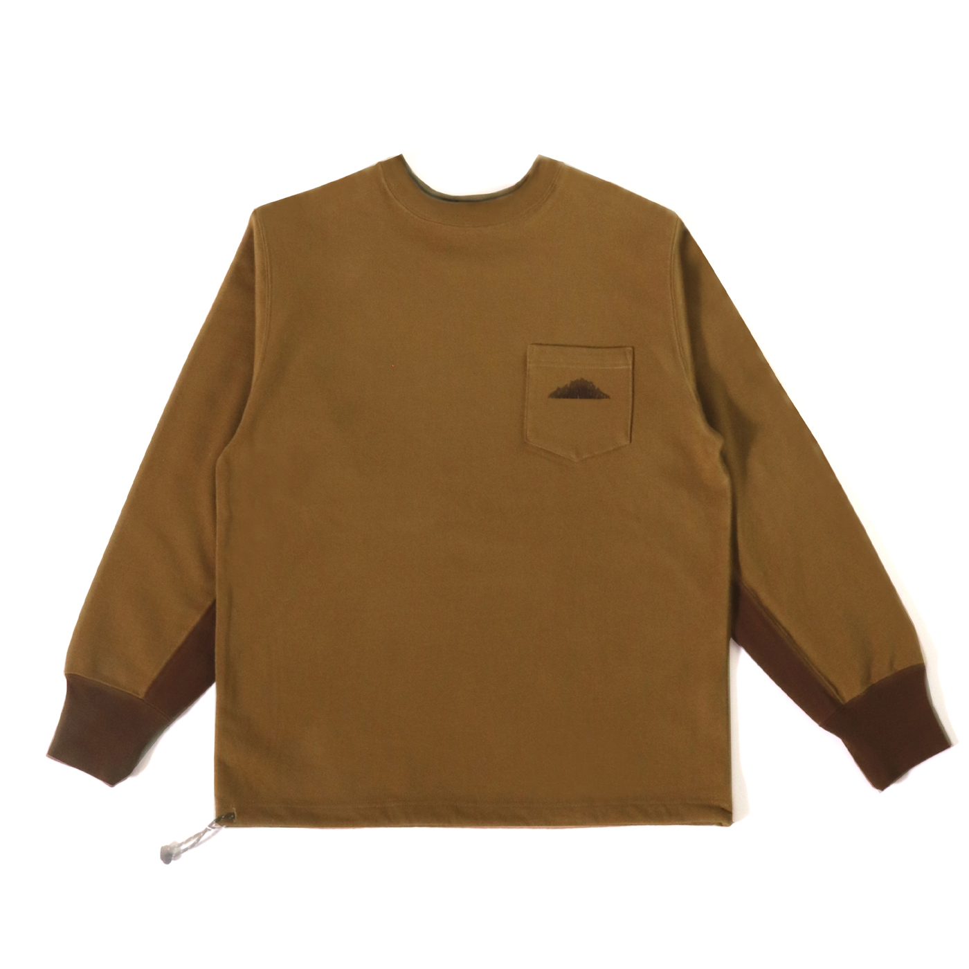 product: Granby Recycled Crew / color: BEIGE 1